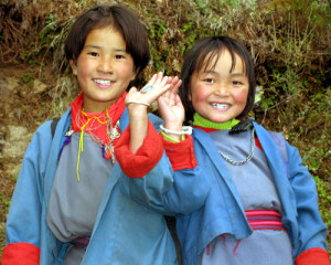 Bhutan_Kids