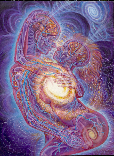 Love is Cosmic by Alex Grey