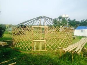 Bamboo sturcture 3